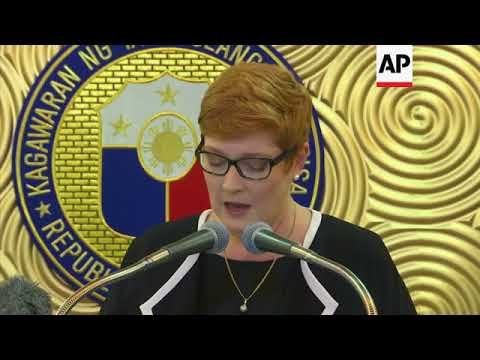Australia to help Manila fight IS group in Marawi