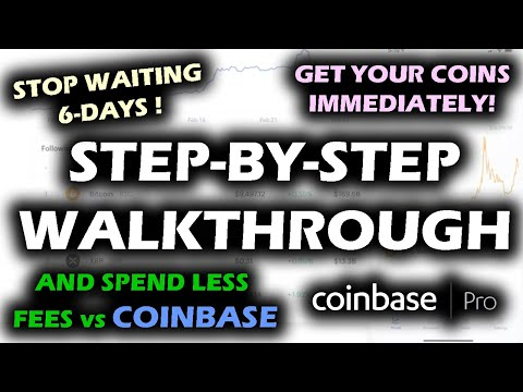 How To Buy XRP Bitcoin And Cryptocurrency On Coinbase With LOWER FEES By Using Coinbase Pro