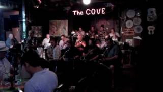 Big band jazz at the cove in san antonio