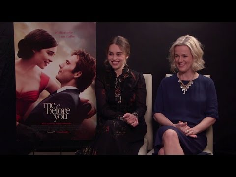 Emilia Clarke & Jojo Moyes Interview - Me Before You (HD)