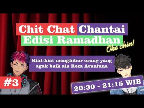 (Chit Chat Chantai) Kiat-kiat menghibur orang yang agak baik ala Reza Avanluna【NIJISANJI ID】