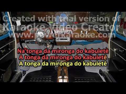 WILSON SIMONAL   KARAOKE , VIDEOKE A TONGA DA MIRONGA