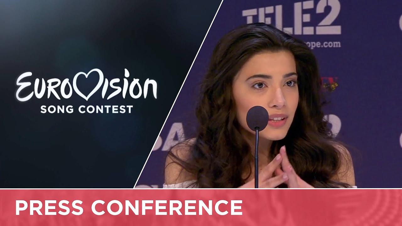 Samra - Miracle (Azerbaijan) Live at Semi - Final 1 of the 2016 Eurovision Song Contest