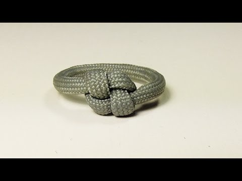 """How You Can Make A Simple Elegant Paracord Ring Too"" - Why Knot"