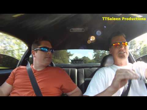 Twin Turbo Saleen Mustang 1000+ rwhp TTSaleen Ride Along Part 2