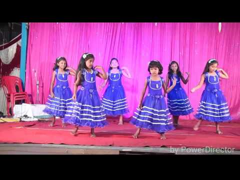latest Christmas  children's Dance by Bangalore Telugu church