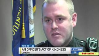 Police Officer Comes Face to Face With Suspected Shoplifter, Something Incredible Happens #Police