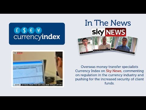Currency Index on Sky News, October 2010