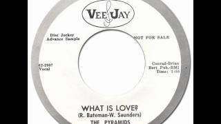 THE PYRAMIDS - WHAT IS LOVE? [Vee-Jay 489] 1962