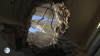 Israel bombardeó intensamente Gaza en respuesta a cohetes palestinos