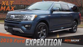2019 Ford Expedition XLT MAX видео.  Обзор Форд Экспедишн XLT MAX 2019 на русском.