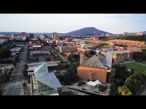 Downtown Chattanooga  in 4K