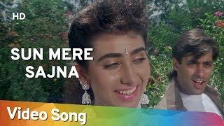 Video Sun Mere Sajna (HD) | Nishchaiy (1992) | Salman Khan | Karishma Kapoor | Popular Hindi Song download MP3, 3GP, MP4, WEBM, AVI, FLV November 2019