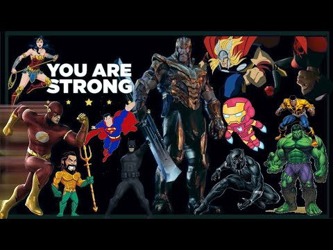 Epic Kids Super-hero workout | Marvel vs DC battle | K-12 PE at home