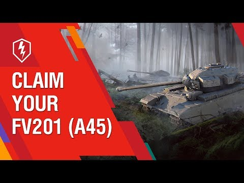 WoT Blitz. The Royal Hunt. Claim Your FV201(A45)