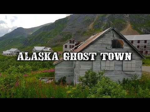 HAUNTED LOCATION! - The Ghost Town At Independence GOLD MINE! - Alaska Ghost Town.