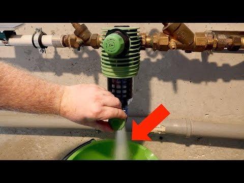 Fabulous Wasserfilter am Hausanschluss reinigen // Grünbeck Rückspülfilter FQ78