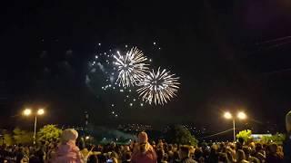 Салют на День города в Раменском 2017