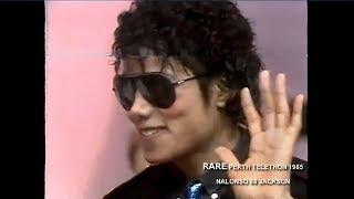 Michael Jackson at Telethon. Perth , Australia 1985