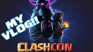 Clash Of Clans - CLASHCON VLOG!!! (Visit to finland )