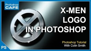 HOW TO MAKE 3D X-MEN LOGO IN PHOTOSHOP