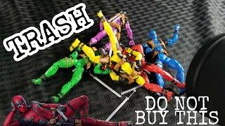 Hasbro Marvel Legends Deadpool 5 pack Review