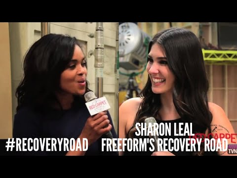 "On the ""Recovery Road"" set with Sharon Leal Talking about the New ..."