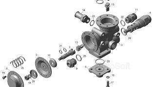 Гидро-распределитель подъёма кузова камаз ремонт