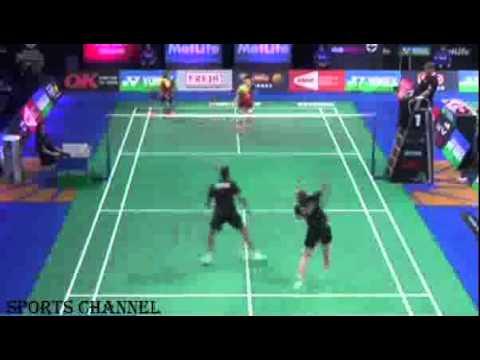Ricky Widianto/Richi P.Dili vs Joachim F.Nielsen/Christinna Pedersen Yonex Denmark Open 2014