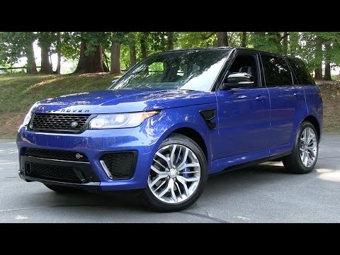 2015/2016 Range Rover Sport SVR Start Up, Road Test, and In Depth Review