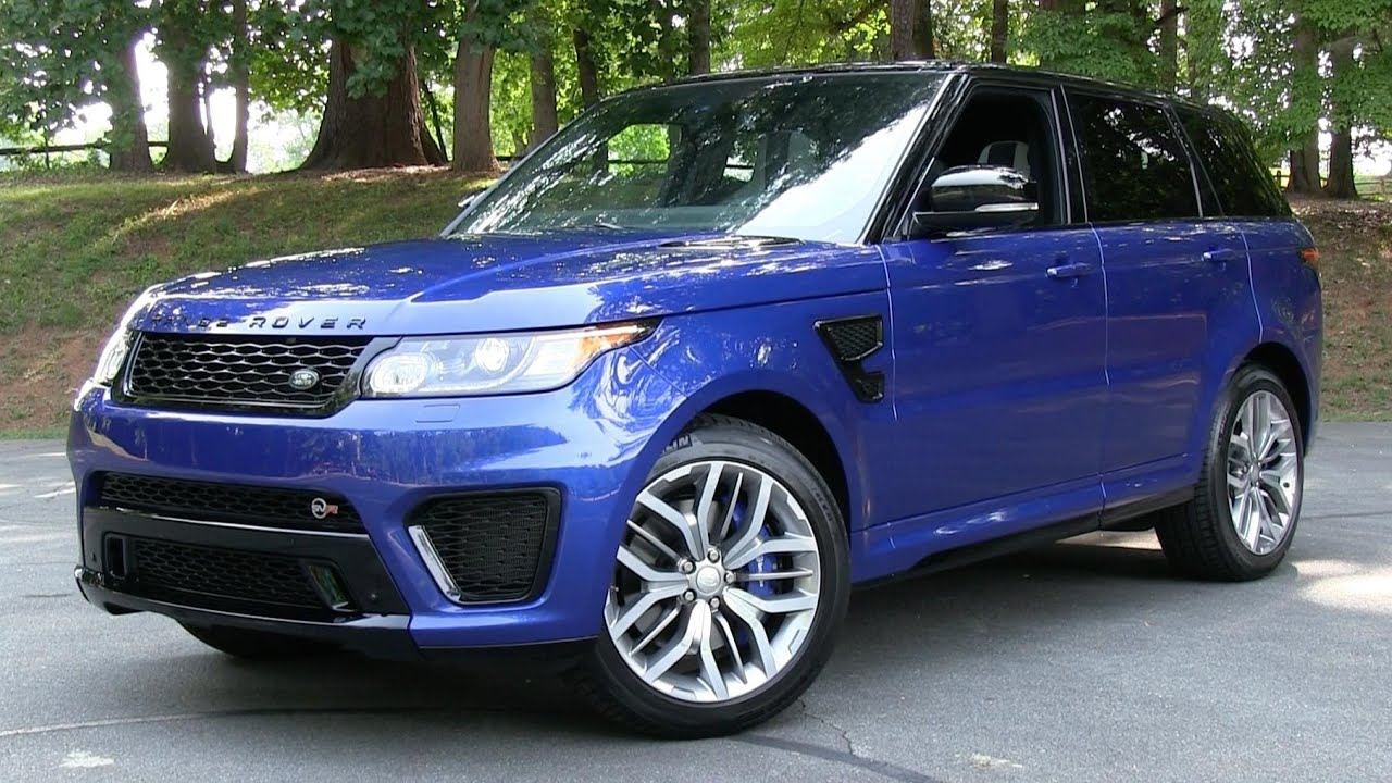 2017 2016 Range Rover Sport Svr Start Up Road Test And In Depth Review