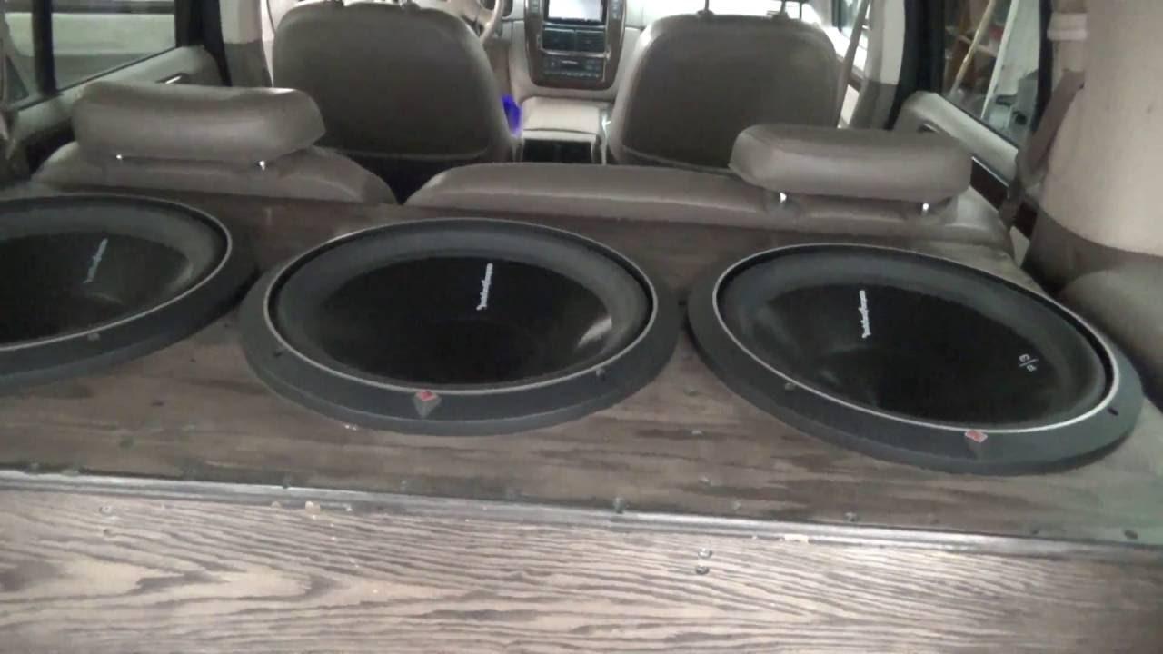 My Rockford Fosgate Car Audio Build