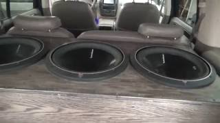 my 2016 rockford fosgate car audio build
