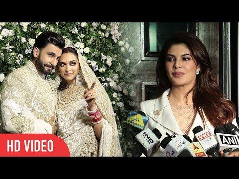 Jacqueline Fernandez Reaction On Marriage Season | Ranveer - Deepika | Priyank - Nick