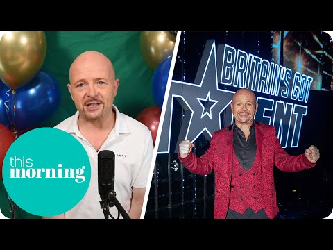 BGT'S Winner Jon Courtenay On How The Show Has Already Changed His Life | This Morning
