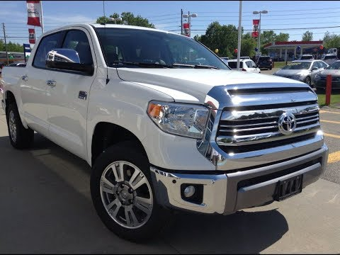 NEW 2017 Toyota Tundra Crewmax 1794 Edition Review White ...