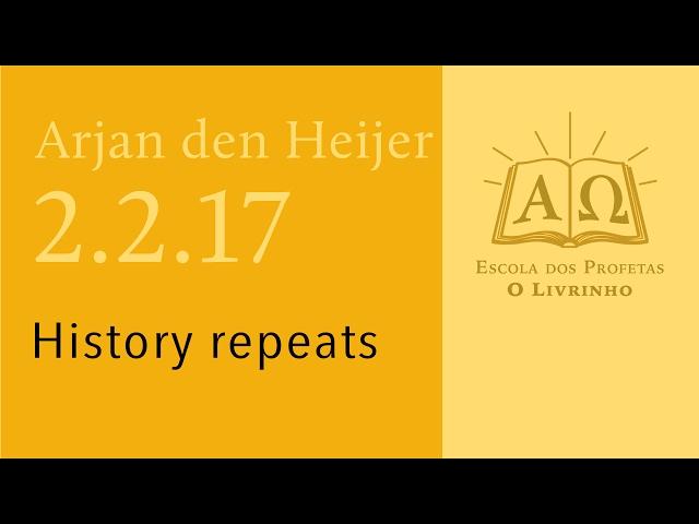 (02.2.17) A História se repete