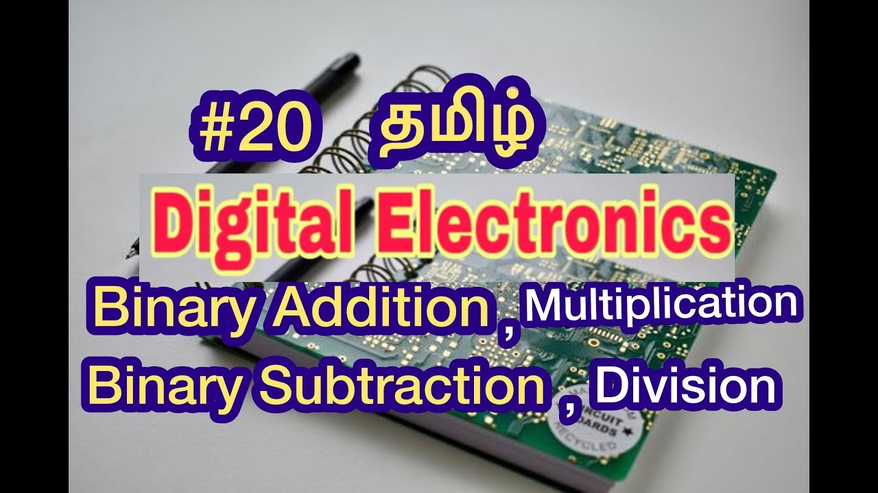 Binary Adder Subtractor Electronics Tutorial
