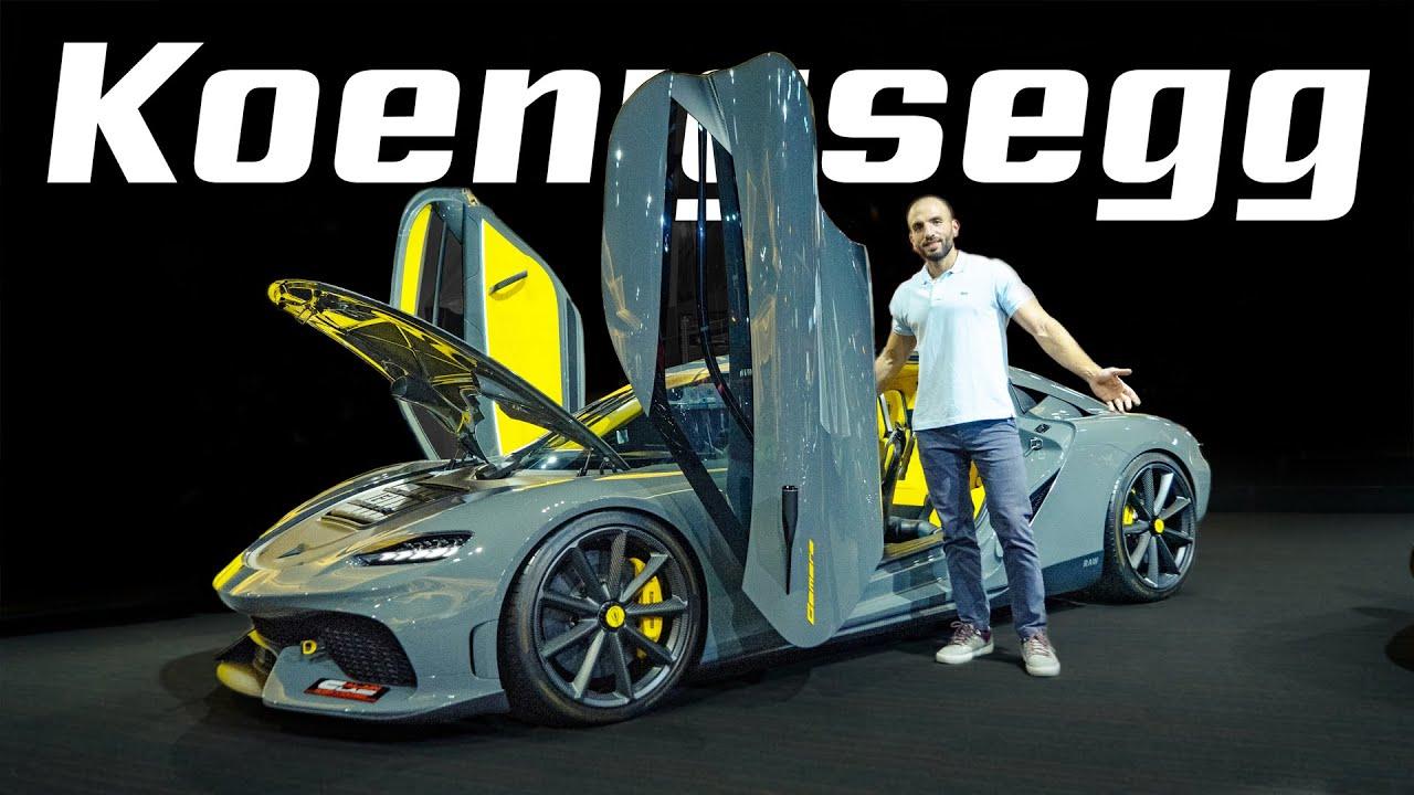 صورة فيديو : اسرع سيارة عائلية خارقة في العالم! Koenigsegg Gemera