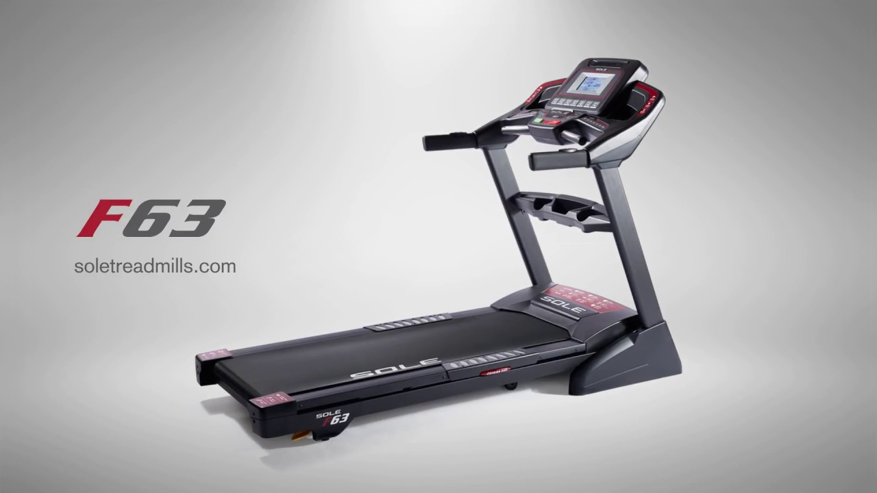 Sole Fitness F63 Tapis De Course Tool Fitness Youtube