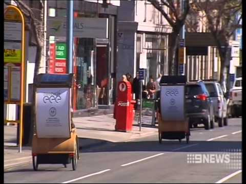 Treecycles // Proposal for free mobility for Adelaide - Channel Nine News