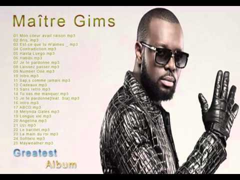 Maître Gims : Les plus grands tubes  || The Best Album of Maître Gims