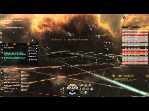 Eve Online: A Drifter Armada Enters Amarr Space!