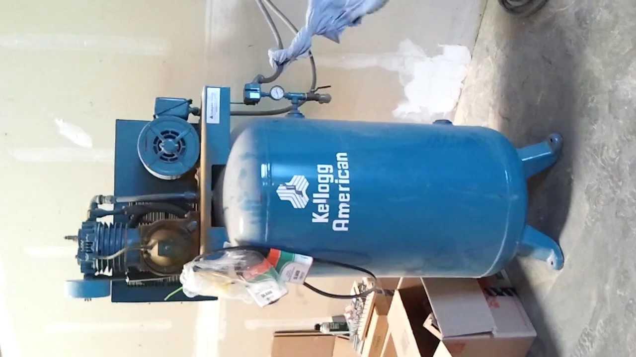 Kellogg air compressor 60 gallon youtube kellogg air compressor 60 gallon fandeluxe Images