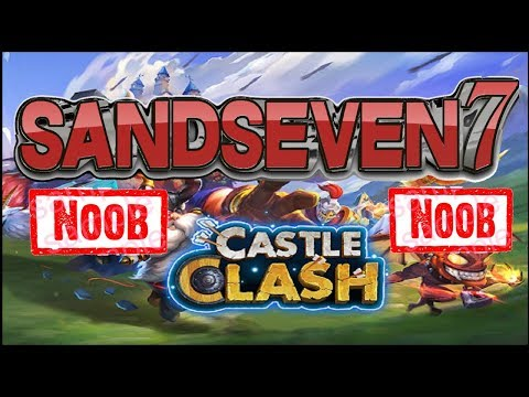 Castle Clash Logging In For 1st Time In 3+ Years | Account Provided By EastEagle