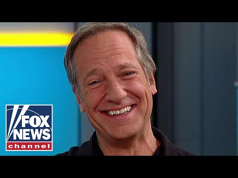 Mike Rowe reacts