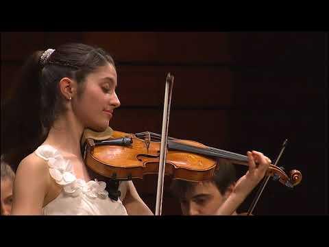 María Dueñas | Mozart | Violin Concerto No. 4 | 2017 Zhuhai International Violin Competition