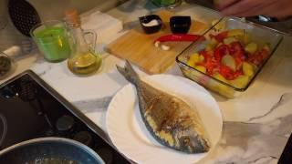 Как быстро и вкусно приготовить рыбу дорадо  РЕЦЕПТЫ ТУНИСА (ВЫПУСК СЕДЬМОЙ)