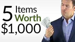 5 Items Worth $1000? | High-End Fashion Pieces WORTH The Money | Luxury Style Buying Tips