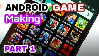 How to make a game on android | How to make your own  Android Game